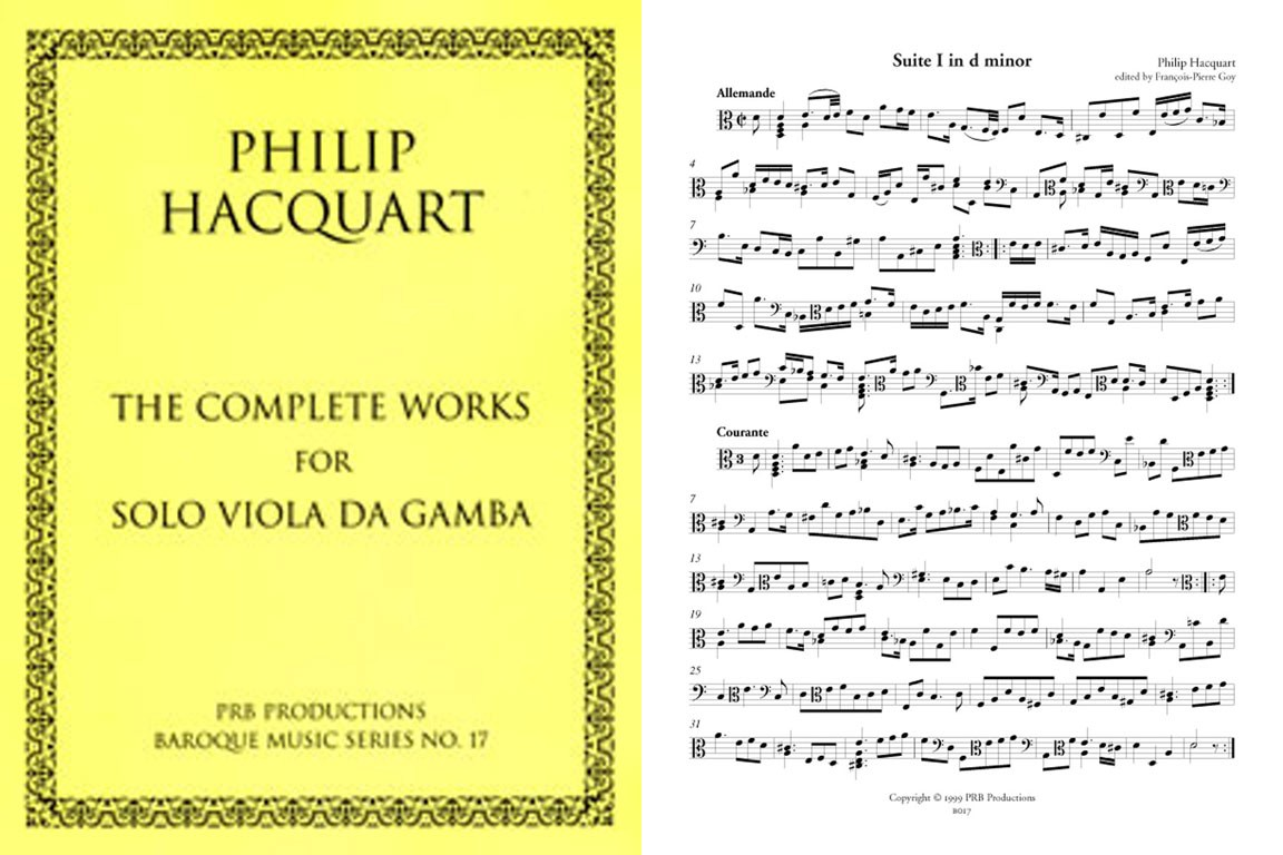 The Complete Works for Solo Viol (B solo)
