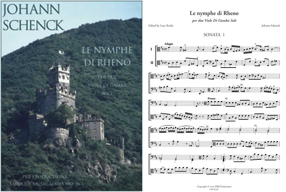 The Nymph of the Rhine (2 playing scores)