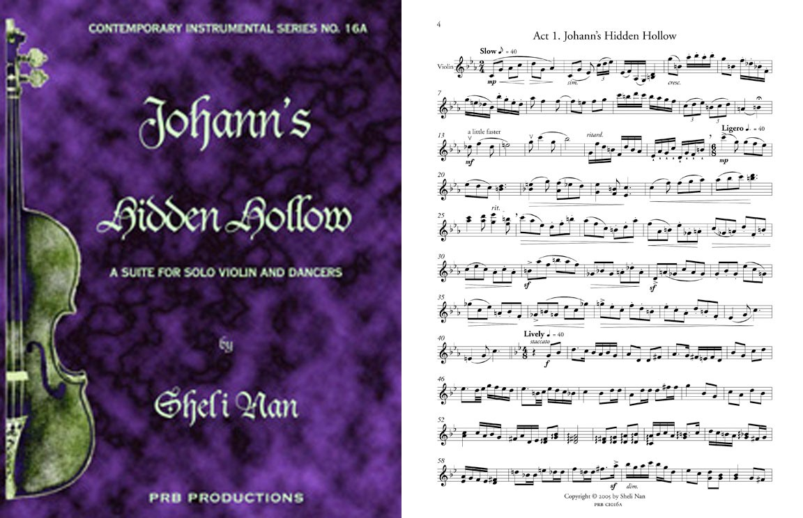 Johann's Hidden Hollow, for Solo Violin & Dancers