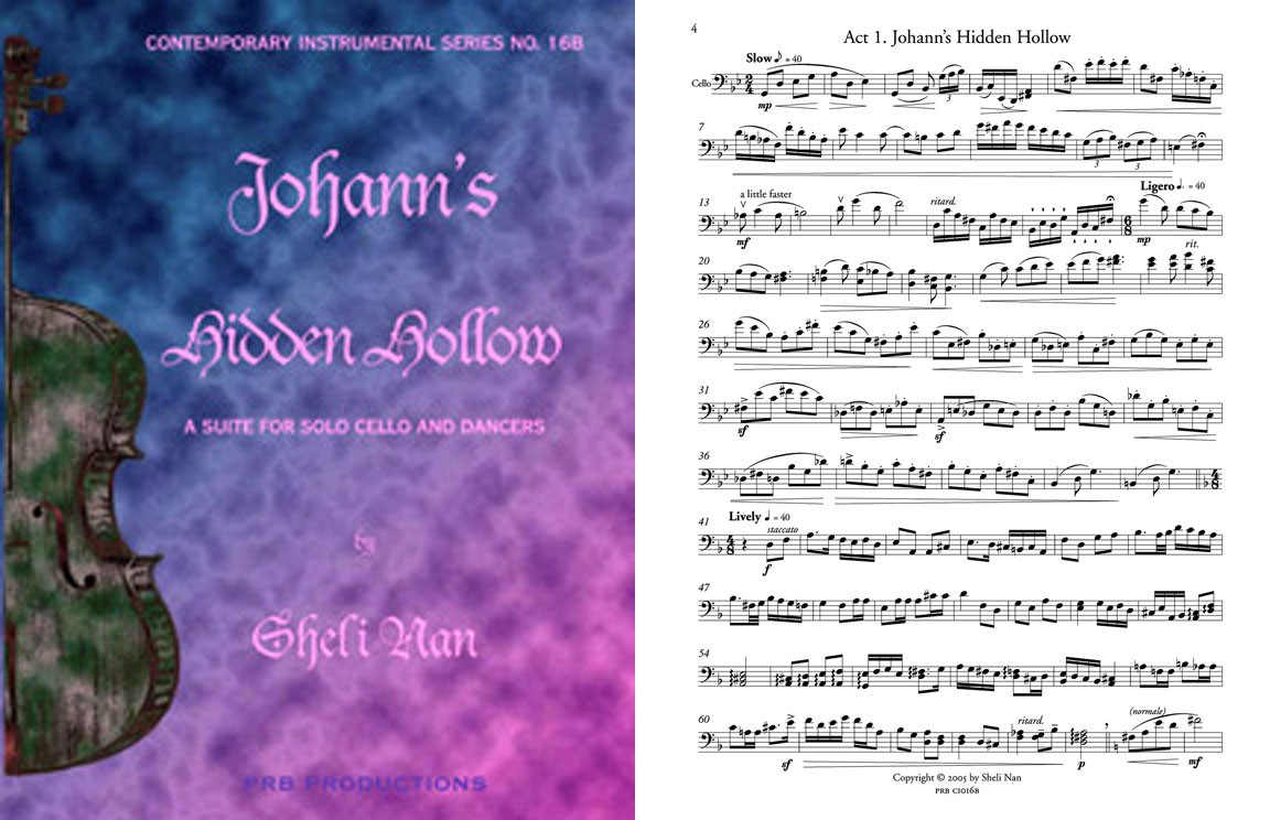 Johann's Hidden Hollow, for Solo Cello and Dancers