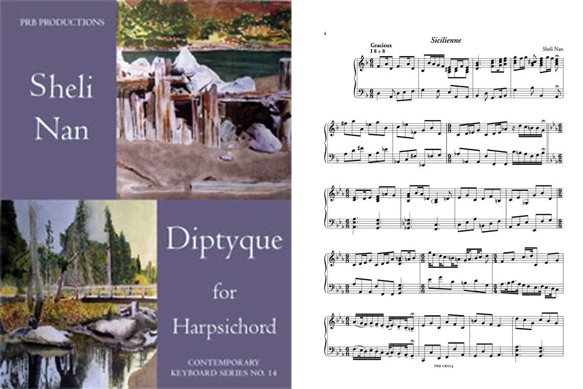 Diptyque for Harpsichord