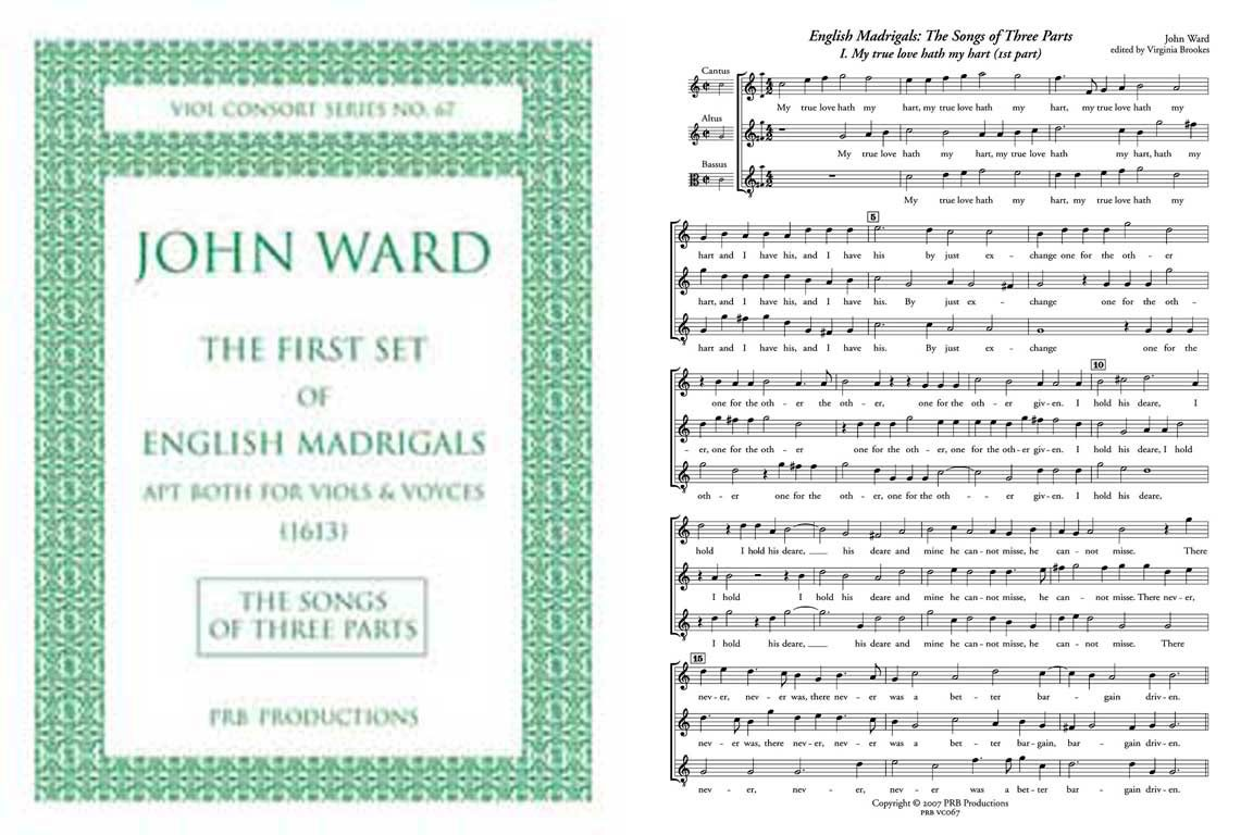 Songs of Three Parts, Score & Parts
