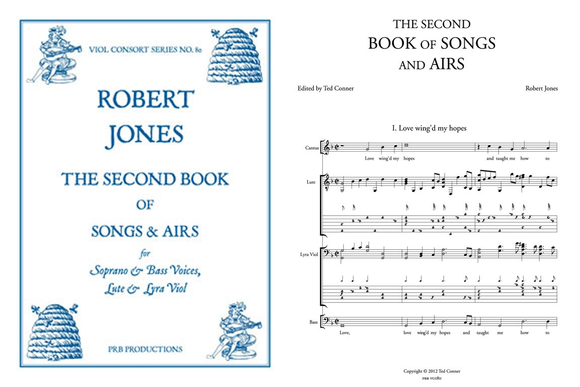 2nd Book of Songs & Airs: Voices, Lute, Lyra Viol