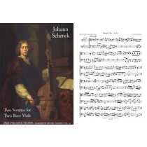Two Sonatas for Two Bass Viols (2 playing scores)