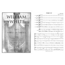 Two Anthems for 6 voices & 6 viols, Score & parts