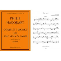 Complete works for Viol transcribed for Guitar