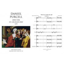 Ode for S. Cecilia's Day 1698, Score and Parts