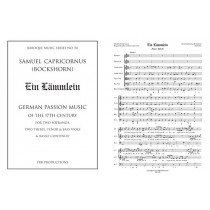 Ein Laemmlein: Score and Parts