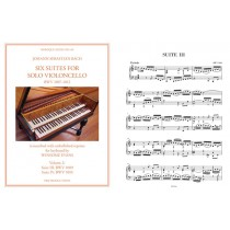 Six Suites for Cello transcribed for Keyboard: 2