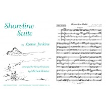 Shoreline Suite, arr. Str. Orch., Score only