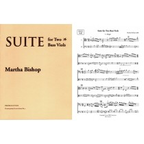 Suite No. 1 for 2 Bass Viols (2 playing scores):