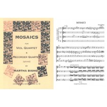 Mosaics (ttTB with optional SATB recorders)