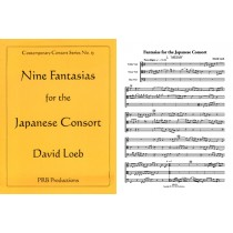 9 Fantasias for the Japanese Consort (3-6 viols)