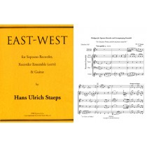 East—West (S solo; AATB and obbl. guitar)
