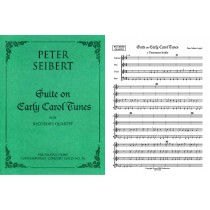 Suite on Early Carol Tunes (SATB; score & parts)