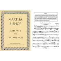 Suite No. 2 for Two Bass Viols (2 playing scores):