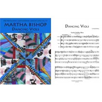 Dancing Viols, for Viol Quartet (ttTB), Sc. & Pts.