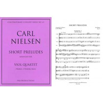 Short Preludes for Viol Quartet (tTTB)