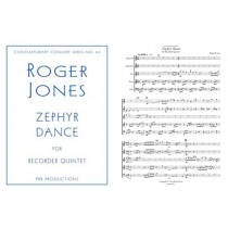 Zephyr Dance, for SSATB recorders