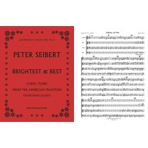 Brightest and Best, for recorders (SATB)