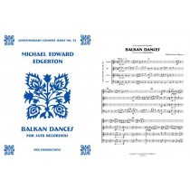 Balkan Dances, for SATB recorders