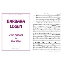 Five Dances for Four Viols