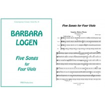 Five Songs for Four Viols (tTTB)