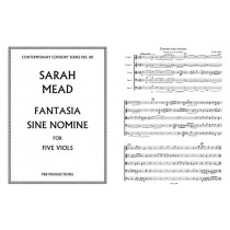Fantasia Sine Nomine for Viol Quintet (ttTBB)