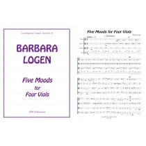 Five Moods for Four Viols