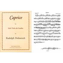 Caprice for Solo Bass Viol (7-string)