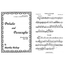 Preludio and Passacaglia (B solo)