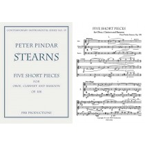 Five Short Pieces for Oboe, Clarinet, Bassoon