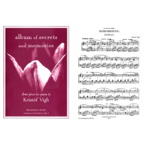 Album of Secrets and Memories (piano solo)