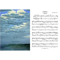 Tombeau in memory of Lee Haskell, for Harpsichord