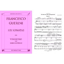 Six Sonatas for Cello and Harpsichord