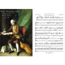 Sonatas for the Viola da Gamba, Vol II