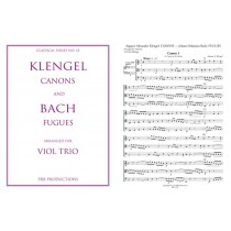 Klengel Canons and Bach Fugues: Viol Trio