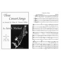 Three Consort Songs (Soprano, tTB)