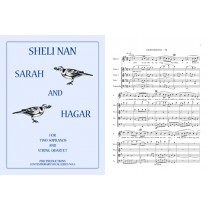 Sarah and Hagar, 2 Sopranos & Str. Quartet, score: