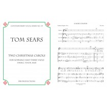 Two Christmas Carols for Soprano and 3 Viols