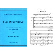 The Beatitudes (SATB & SATB soli)
