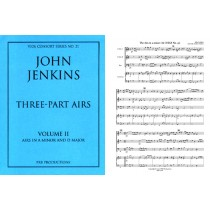 Three-Part Airs, Vol. II (ttB, continuo, keyboard)