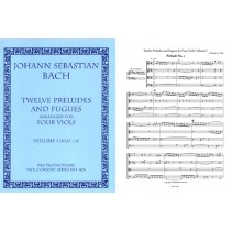 12 Preludes & Fugues a4, Vol I (#1-6)