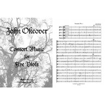Consort Music for Five Viols (ttTTB)