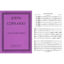 The Six-Part Pieces, Score & Parts