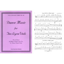 Dance Music for Two Lyra Viols, Score & Parts: