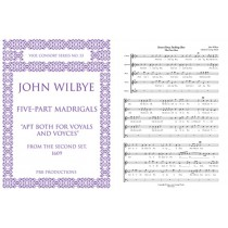 The Five-Part Madrigals for Voices/Viols (score)