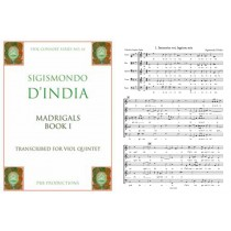 5-Part Madrigals, Book I : Score & 8 Parts