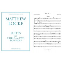 Suites for Treble/Vln and 2 Bass Viols
