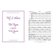 Two Fugues arr. Viol Quartet